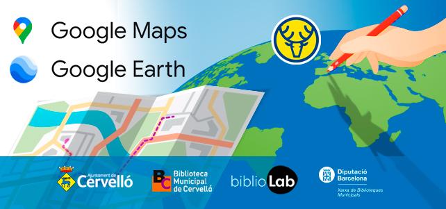 Conferències «Google Earth & Maps» amb Manel Trenchs – Actualitzat