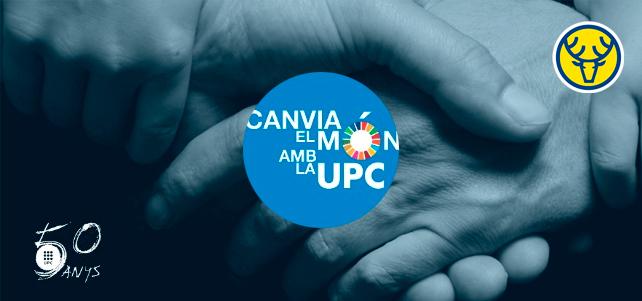 """Cervemakers """"Canvia el món amb la UPC"""""""