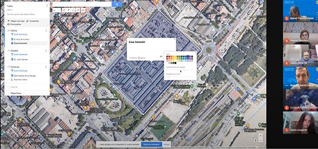 imatge de pantalla google maps